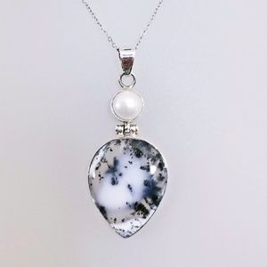 Kiam Family Tourmalinated Quartz Necklace